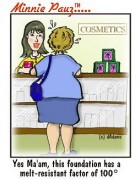 hot flashes and cosmetics